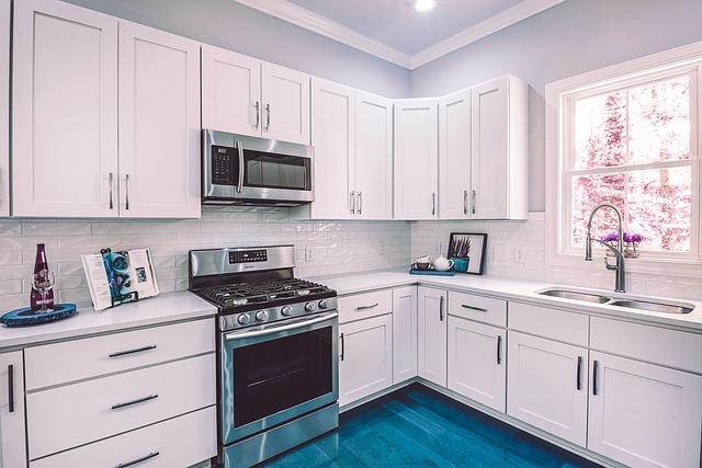 home kitchen clean